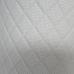 Перфорированная кожа Белая (Тройная строчка)